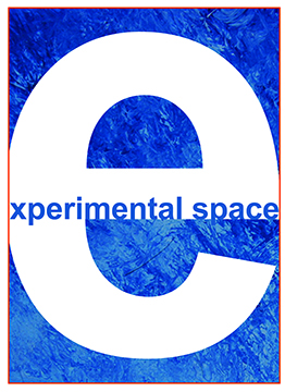 Graphic identity for the exhibition Experimental Space