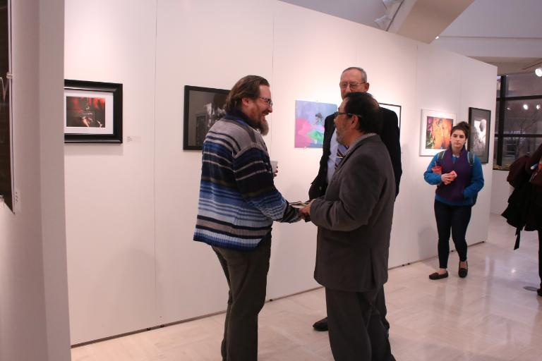 Digital Image Exhibition Reception