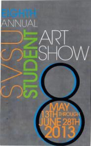 8th Annual Student Exhibit Postcard
