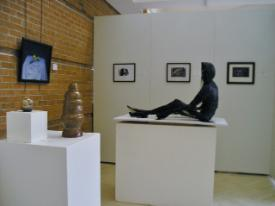 8th Annual Art Students Exhibit - view of gallery