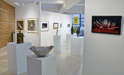 Picture of Art Faculty Exhibit January 2014