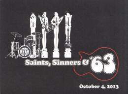 Postcard for Saints & Sinners Invitational 2013