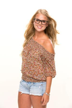 "Nicole Franzel, a 2014 SVSU graduate, is a contestant on the CBS reality TV show, ""Big Brother."""
