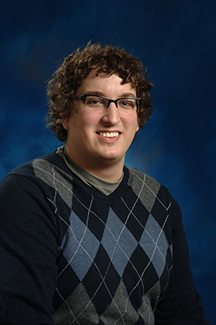 Evan Nudi graduated from SVSU in May 2014.