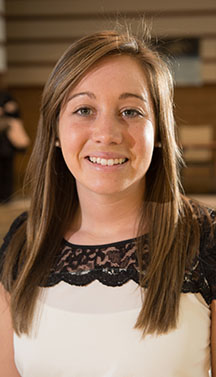 Kerri Vasold graduated from SVSU in May, 2014.