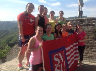 The Roberts Fellows visited a number of sites in East Asia including the Great Wall of China.