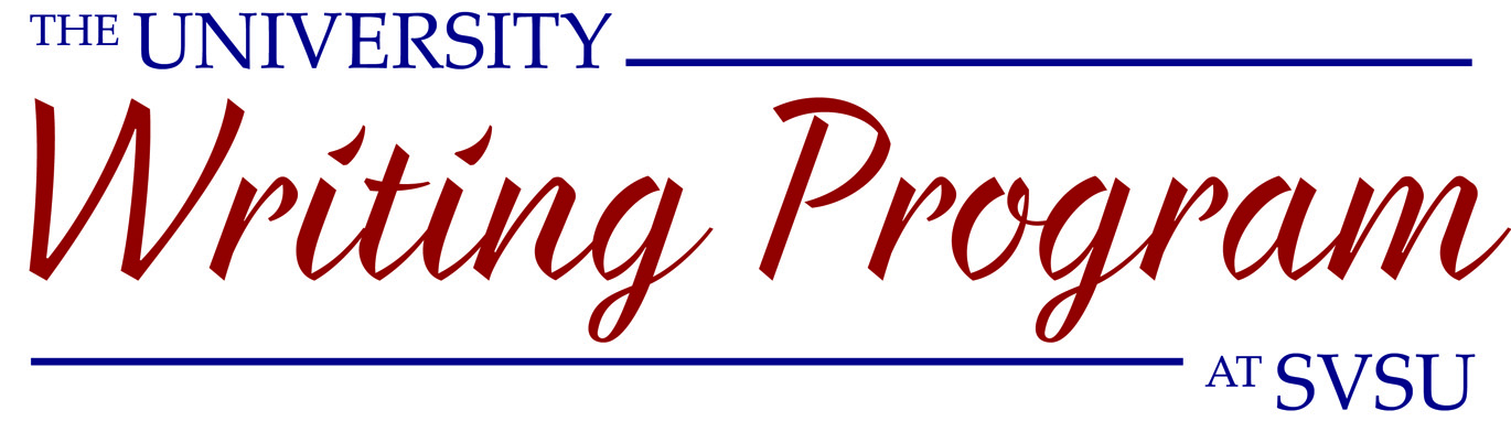 Banner logo for Writing Program page.